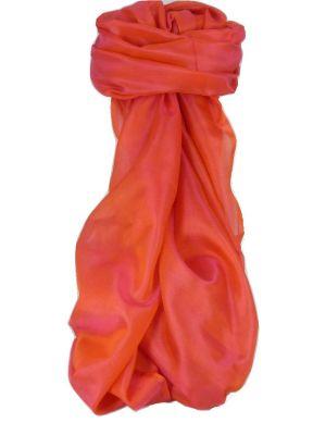 Varanasi Silk Long Scarf Heritage Range Madan 4 Peony by Pashmina & Silk