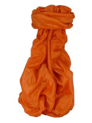 Varanasi Silk Long Scarf Heritage Range Madan 8 Umber by Pashmina & Silk