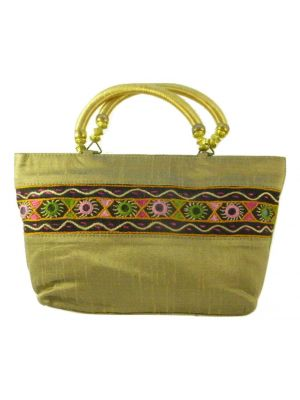 Silk Handbag Divya 10 Silk Sauvage at Pashmina & Silk