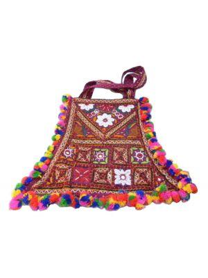 Tote Bag Fumka Roza by Tikitiboo at Pashmina & Silk