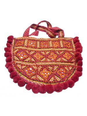 Tote Bag Fumka Sari by Tikitiboo at Pashmina & Silk