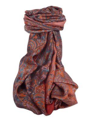 Mens Jamawar Premium Silk Scarf Pattern 4289 by Pashmina & Silk