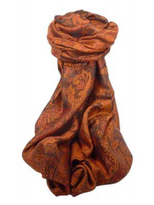 Premium Silk Stole Pattern 4449 by Pashmina & Silk
