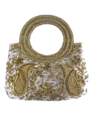 Raw Silk Clutch Bag 103 by Silk Sauvage at Pashmina & Silk