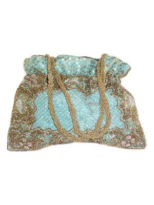 Raw Silk Clutch Bag 105 by Silk Sauvage at Pashmina & Silk