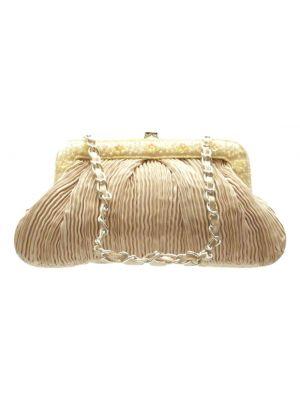 Raw Silk Clutch Bag 107 by Silk Sauvage at Pashmina & Silk