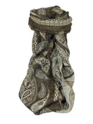 Mens Muffler Scarf 2669 Fine Pashmina Wool by Pashmina & Silk