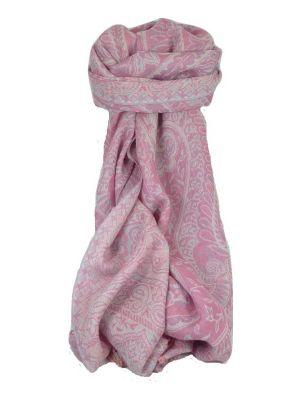 Muffler Scarf 4133 in Fine Pashmina Wool Heritage Range by Pashmina & Silk