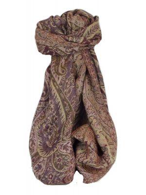 Muffler Scarf 4423 in Fine Pashmina Wool Heritage Range by Pashmina & Silk