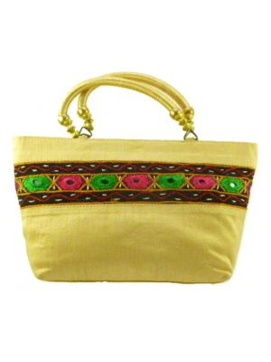 Silk Handbag Divya 06 Silk Sauvage at Pashmina & Silk