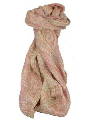 Muffler Scarf 4553 in Fine Pashmina Wool Heritage Range by Pashmina & Silk