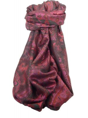 Premium Silk Stole Pattern 8409 by Pashmina & Silk