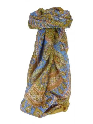 Mulberry Silk Classic Square Scarf Ushma Umber by Pashmina & Silk