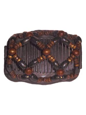 Chignon Comb 703 Brown from TIKITIBOO by Pashmina & Silk