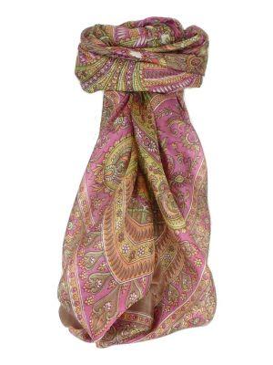 Mulberry Silk Classic Square Scarf Ushma Caramel by Pashmina & Silk