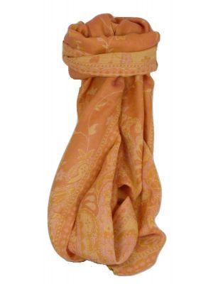 Muffler Scarf 6113 in Fine Pashmina Wool Heritage Range by Pashmina & Silk