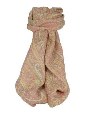 Muffler Scarf 6823 in Fine Pashmina Wool Heritage Range by Pashmina & Silk