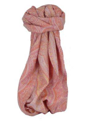 Muffler Scarf 7363 in Fine Pashmina Wool Heritage Range by Pashmina & Silk