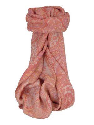 Muffler Scarf 7783 in Fine Pashmina Wool Heritage Range by Pashmina & Silk