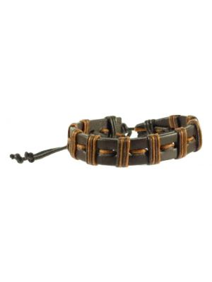Bracelet 100% Leather  Model 605 from TICKITIBOO by Pashmina & Silk