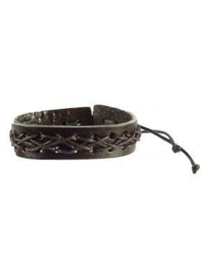 Bracelet 100% Leather  Model 608 from TICKITIBOO by Pashmina & Silk
