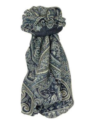 Muffler Scarf 8353 in Fine Pashmina Wool Heritage Range by Pashmina & Silk