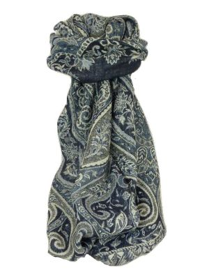 Mens Muffler Scarf 0909 Fine Pashmina Wool by Pashmina & Silk