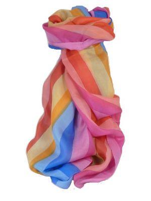 Mulberry Silk Classic Long Scarf Dani Rainbow Palette by Pashmina & Silk