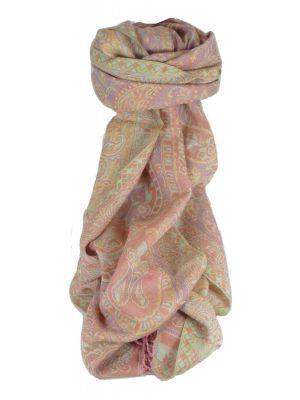 Muffler Scarf 1643 in Fine Pashmina Wool Heritage Range by Pashmina & Silk