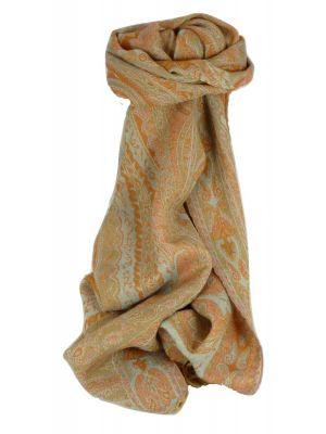Muffler Scarf 2343 in Fine Pashmina Wool Heritage Range by Pashmina & Silk