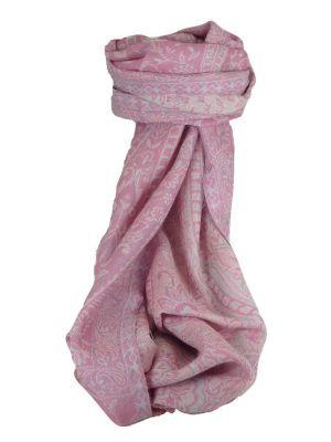 Muffler Scarf 2473 in Fine Pashmina Wool Heritage Range by Pashmina & Silk