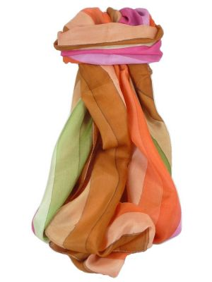 Mulberry Silk Classic Long Scarf Kholi Rainbow Palette by Pashmina & Silk