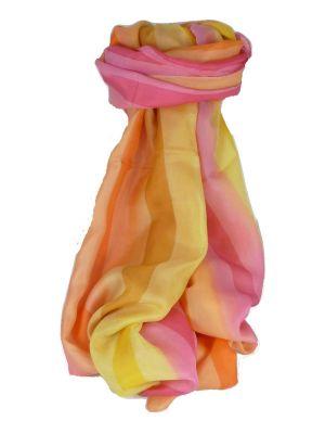 Mulberry Silk Classic Long Scarf Krish Rainbow Palette by Pashmina & Silk