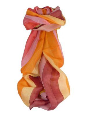 Mulberry Silk Classic Long Scarf Lamba Rainbow Palette by Pashmina & Silk