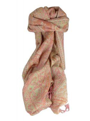 Muffler Scarf 3753 in Fine Pashmina Wool Heritage Range by Pashmina & Silk