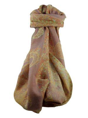 Muffler Scarf 8833 in Fine Pashmina Wool Heritage Range by Pashmina & Silk