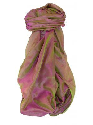 Varanasi Silk Long Scarf Heritage Range Jayaprakesh 6 by Pashmina & Silk