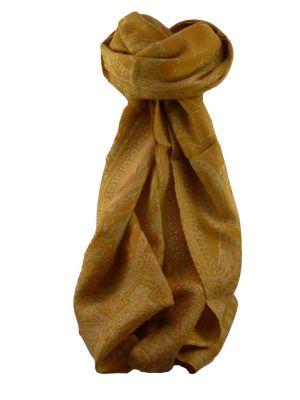 Muffler Scarf 9793 in Fine Pashmina Wool Heritage Range by Pashmina & Silk