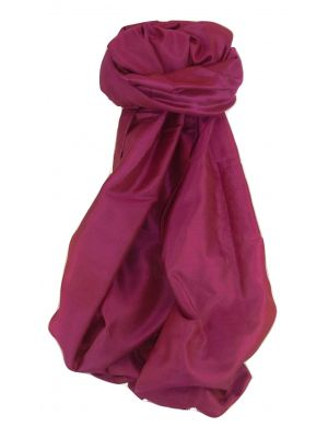 Varanasi Silk Long Scarf Heritage Range Mayur 4 by Pashmina & Silk