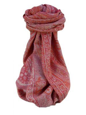 Muffler Scarf 0263 in Fine Pashmina Wool Heritage Range by Pashmina & Silk