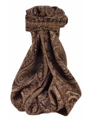 Muffler Scarf 0393 in Fine Pashmina Wool Heritage Range by Pashmina & Silk