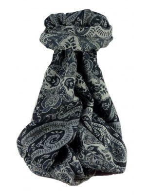 Mens Muffler Scarf 8419 Fine Pashmina Wool by Pashmina & Silk