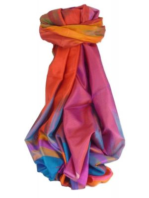 Varanasi Ekal Premium Silk Long Scarf Heritage Range Persad 2 by Pashmina & Silk
