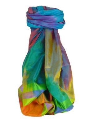 Varanasi Ekal Premium Silk Long Scarf Heritage Range Persad 3 by Pashmina & Silk