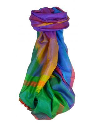 Varanasi Ekal Premium Silk Long Scarf Heritage Range Persad 7 by Pashmina & Silk