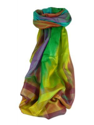 Varanasi Ekal Premium Silk Long Scarf Heritage Range Persad 8 by Pashmina & Silk