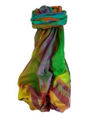 Varanasi Ekal Premium Silk Long Scarf Heritage Range Persad 10 by Pashmina & Silk
