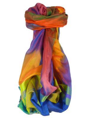 Varanasi Ekal Premium Silk Long Scarf Heritage Range Arun 3 by Pashmina & Silk