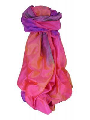 Varanasi Ekal Premium Silk Long Scarf Heritage Range Arun 4 by Pashmina & Silk