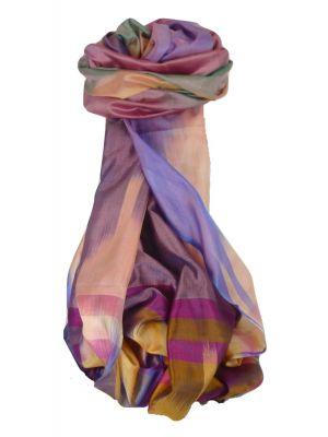 Varanasi Ekal Premium Silk Long Scarf Heritage Range Arun 6 by Pashmina & Silk